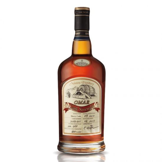 Omar Cask Strength Single Malt Whisky (Sherry Cask )