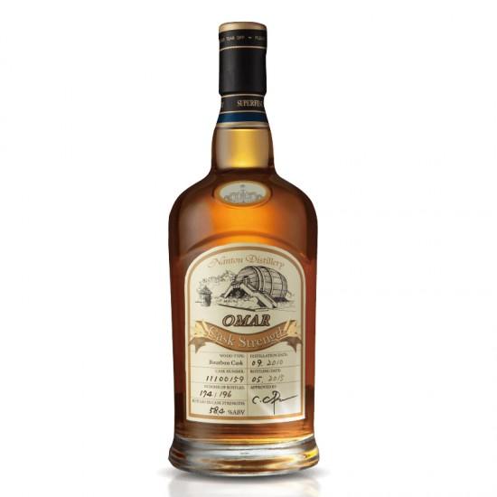 Omar Cask Strength Single Malt Whisky (Bourbon Cask)
