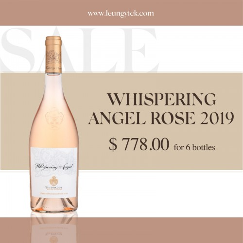 Whispering Angel Rose 2019 for 6 bottles