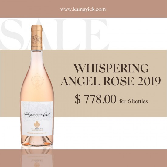 Whispering Angel Rose 2019 for 6 bottles