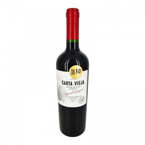 Carta Vieja Cab Sau Limited Release 2017