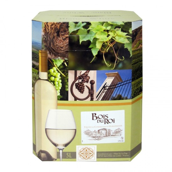 Bois du Roi Elegance VDCE - Blanc (5 Litre Box)